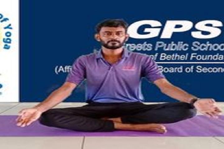 Greets Public School-Yoga Class