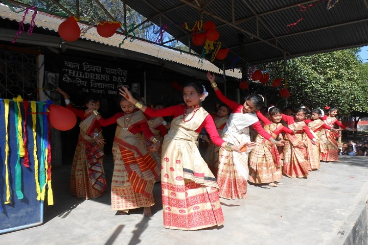 Kendriya Vidyalaya-Cultural dance program