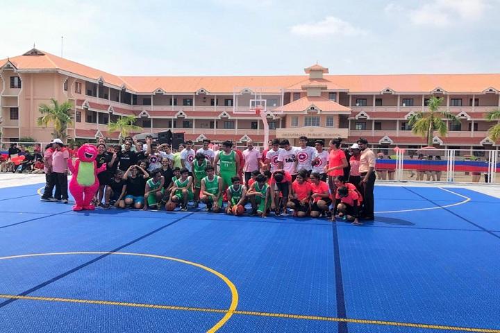 Gregorian Public School-Play ground