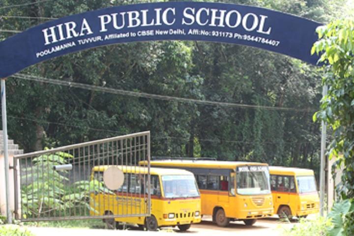 Hira Public School-Bus