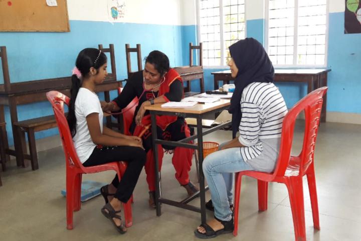 Hira Public School-Health Checkup