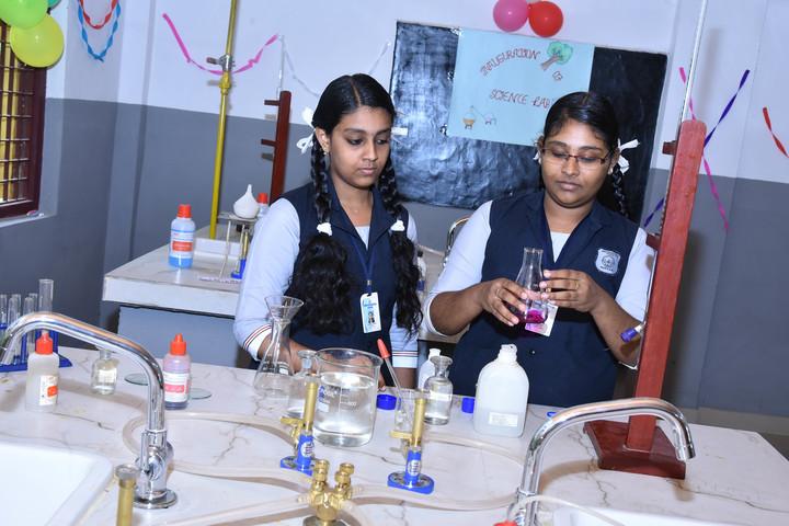 Hira Residential School-Chemistry Lab