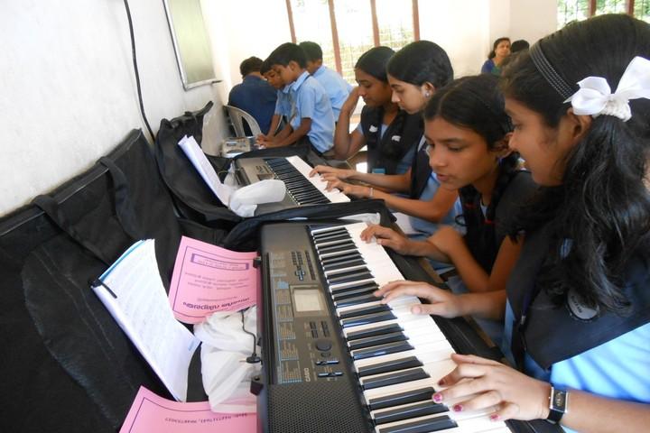 Hira Residential School-Music Class
