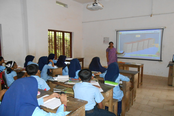 Hira Residential School-Smart Classroom