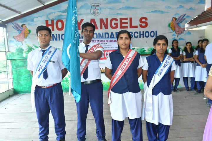 Holy Angels English School-Investiture Ceremony