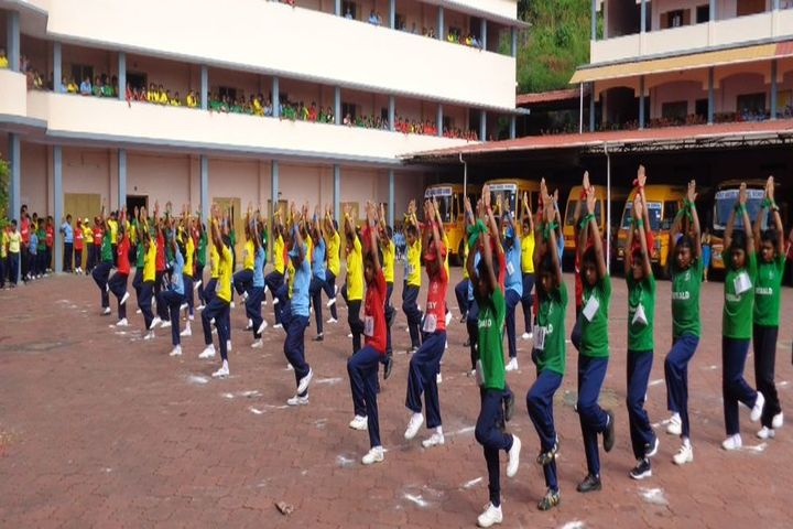 Holy Angles Model School-Physical Training