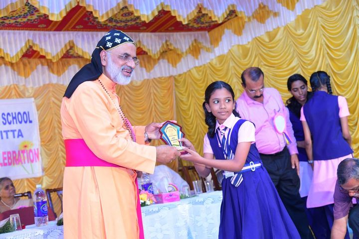 Holy Angles Model School-Prize Distribution