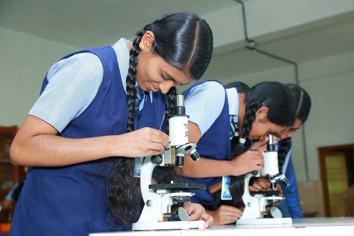 Holy Cross Convent School-biology Lab
