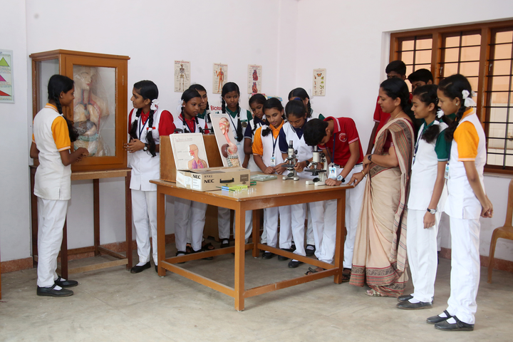 Holy Cross Convent School-Biology Lab