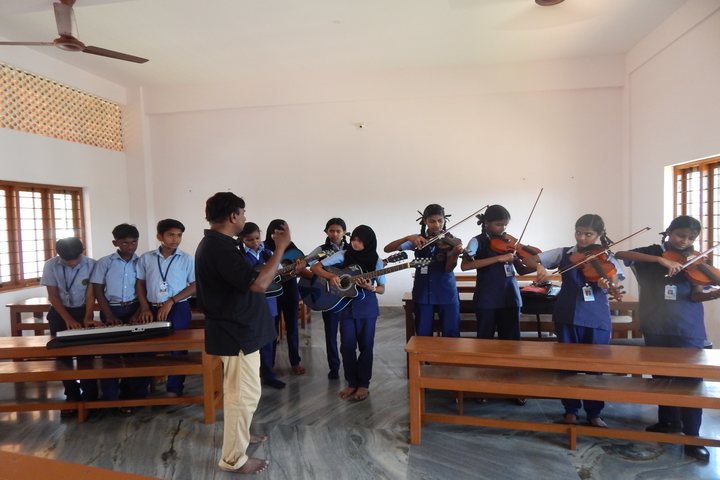 Holy Cross Convent School-Music Room
