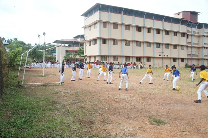 Holy Cross Convent School-Playground