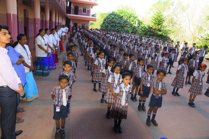 Holy Cross English School-Assembly