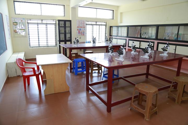 Holy Cross English School-Biology Lab