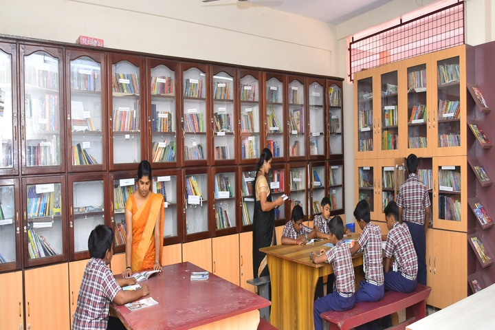 Holy Cross English School-Library