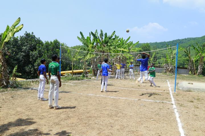 Holy Cross English School-Playground