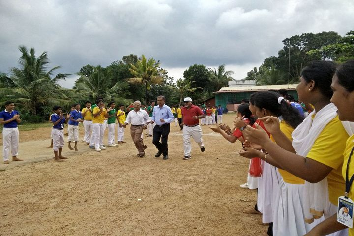 Holy Cross English School-Sports Day