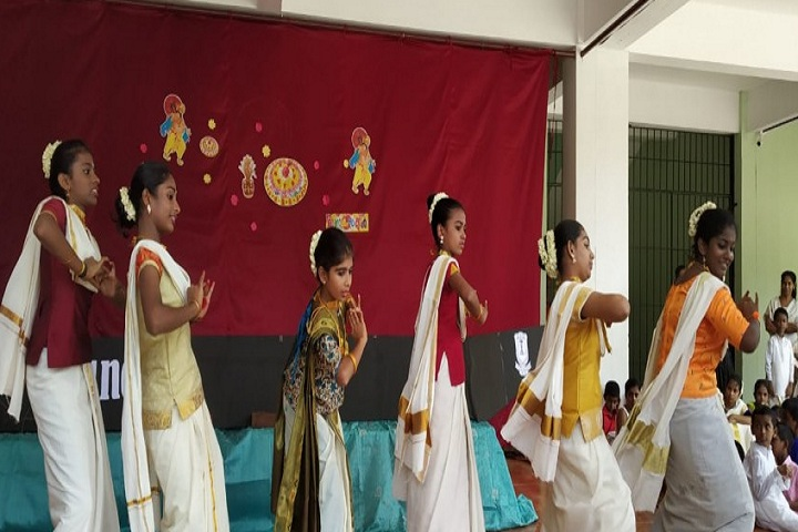 Holy Cross School-Onam Festival celebrations