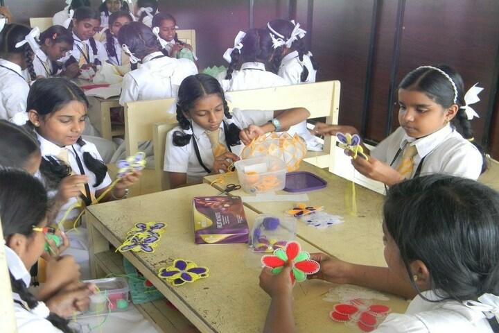 Holy Innocents Public School-Art and Craft Class