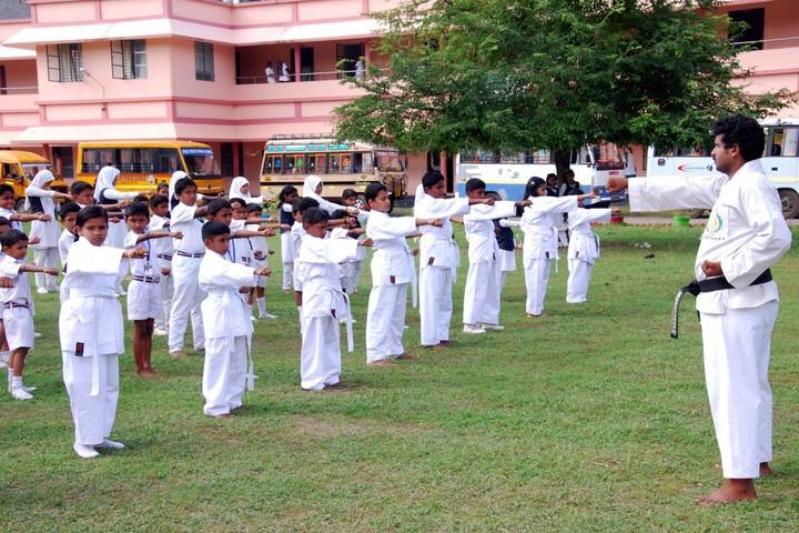 Huda Trust Public School-Karate