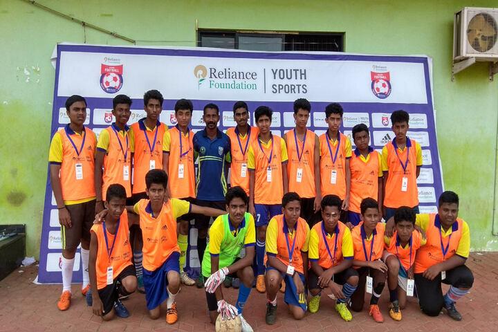 Indian Public School-Football Team