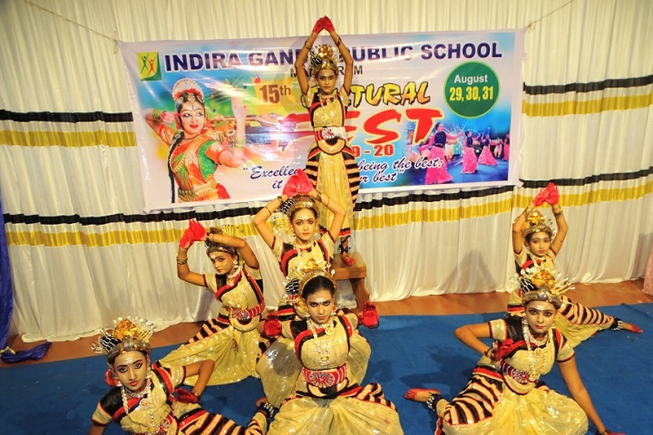 Indira Gandhi Public School-Events