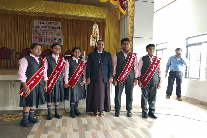 Infant Jesus English Medium School-Investiture Ceremony