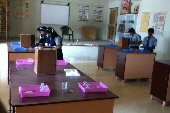 Infant Jesus Residential School-Chemistry Lab