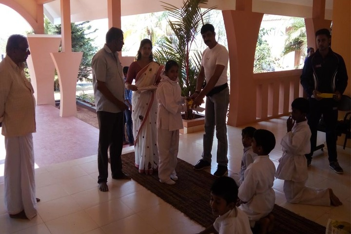 International Indian School-Karate