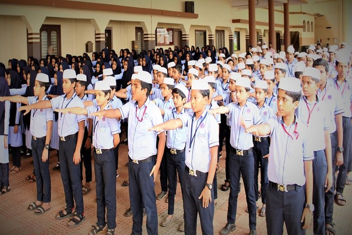 Isha Ath Public School-Assembly