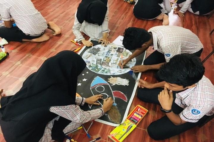 Islahiya Orphanage School-Art and Craft