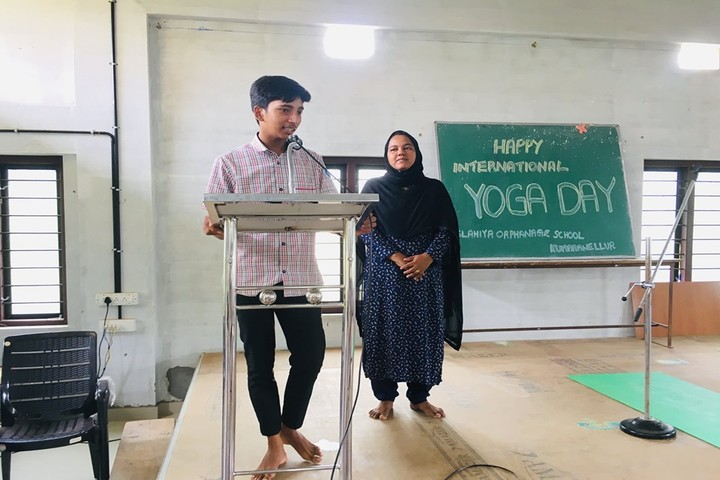Islahiya Orphanage School-Speech