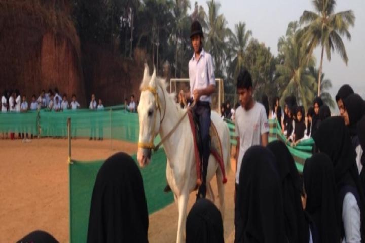 Islahiya Public School-Horse Riding