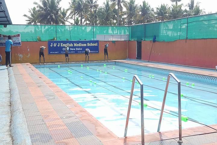 J and J English Medium School-Swimming Pool