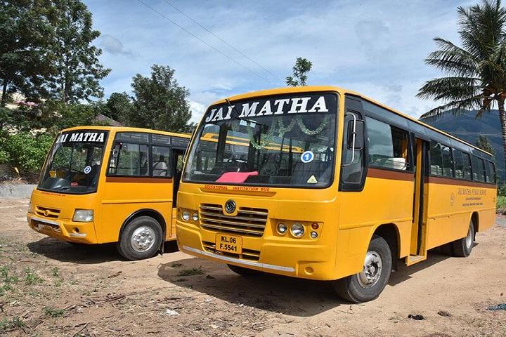 Jai Matha Public School-Bus