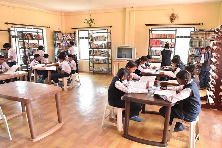 Jai Matha Public School-Library