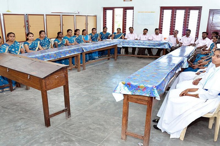 Jai Matha Public School-Staff Meeting