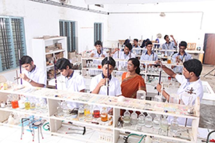Jama Ath Residential Public School-Chemistry Lab