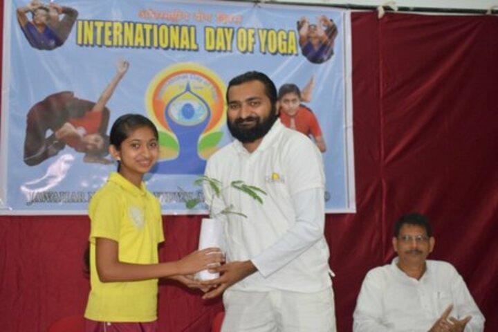 Jawahar Navodaya Vidyalaya-International Yoga Day