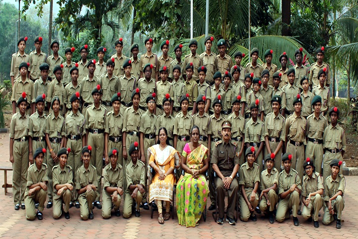Jawahar Navodaya Vidyalaya-NCC Team Group Photo