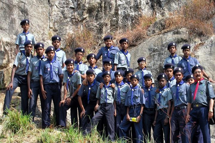 Jawahar Navodaya Vidyalaya-Scout Team