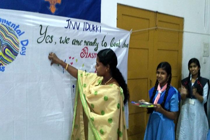 Jawahar Navodaya Vidyalaya-Envernomental Day Celebration