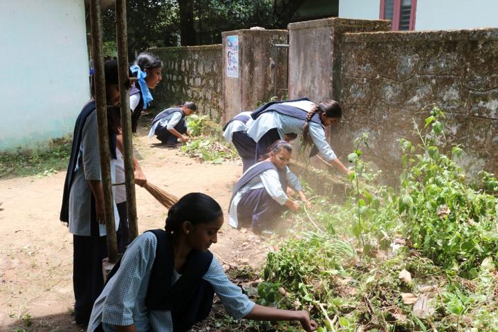 Jawahar Navodaya Vidyalaya-Campus Cleaning