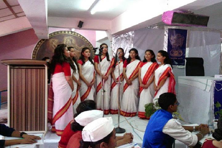 Jawahar Navodaya Vidyalaya-Group Singing