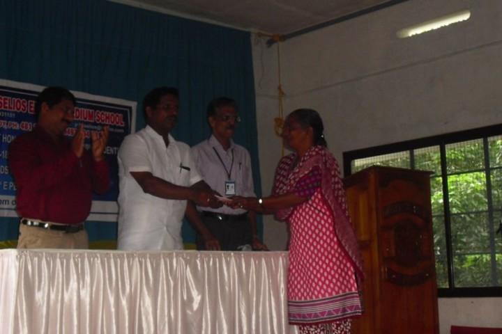 Junior Baselios English Medium School-Prize Distribution
