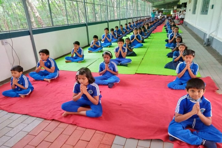 Junior Baselios English Medium School-Yoga Day