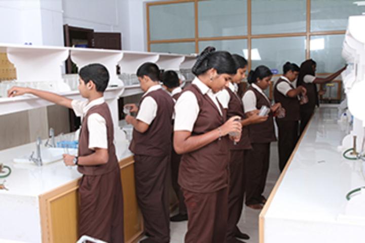 Jyothi Nikethan English Medium School-Chemistry Lab