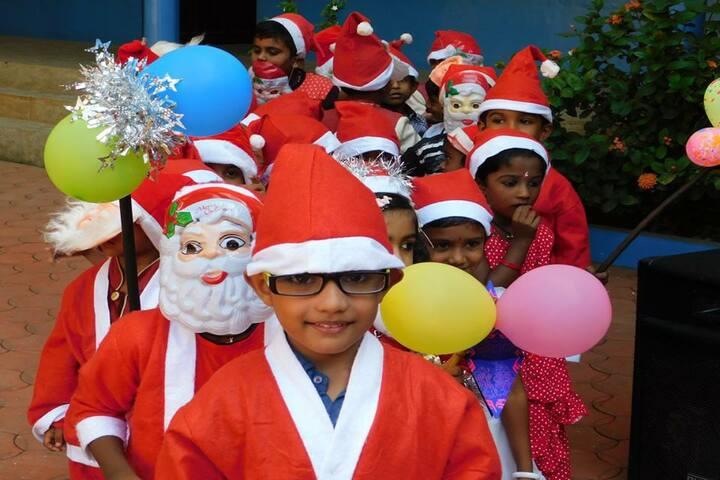 Jyothi Nikethan English Medium School-Christmas Celebration