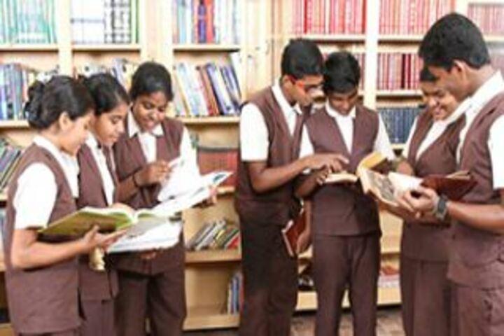 Jyothi Nikethan English Medium School-Library