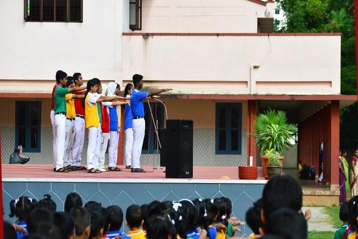 Jyothi Nivas Public School-Assembly