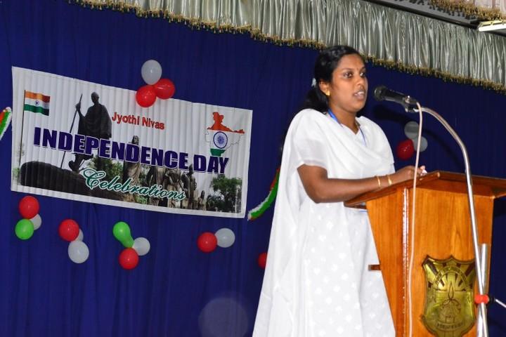 Jyothi Nivas Public School-Independence Day